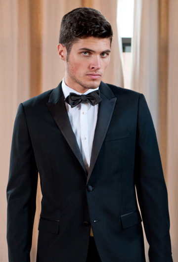Shirt with Black Tie