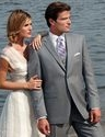 Perry Ellis Grey Suit
