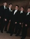 Jason Olchawa and groomsmen